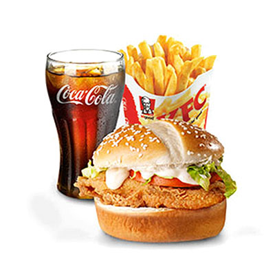 KFC Zimbabwe - Colonel Burger Meal