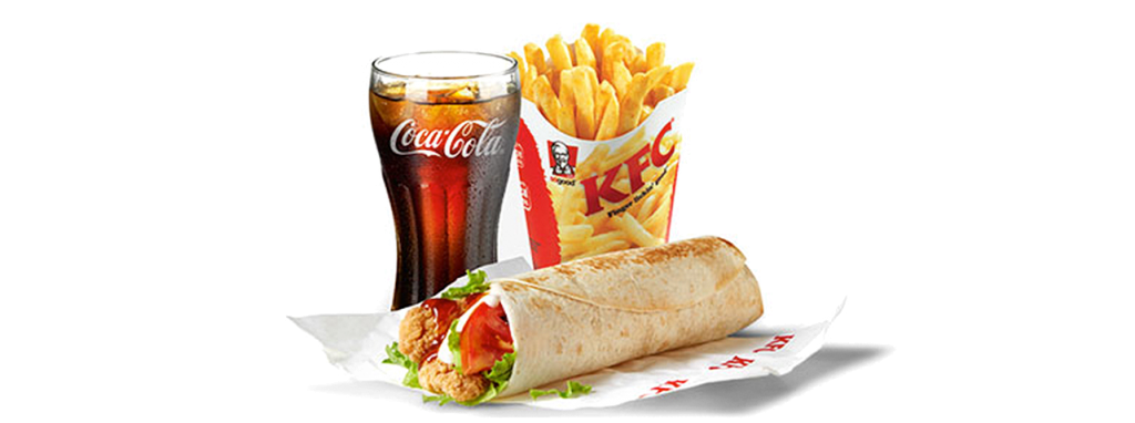 KFC Zimbabwe - Sweet Chilli Twister Meal