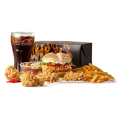 KFC Zimbabwe - Wicked Zinger Box Meal