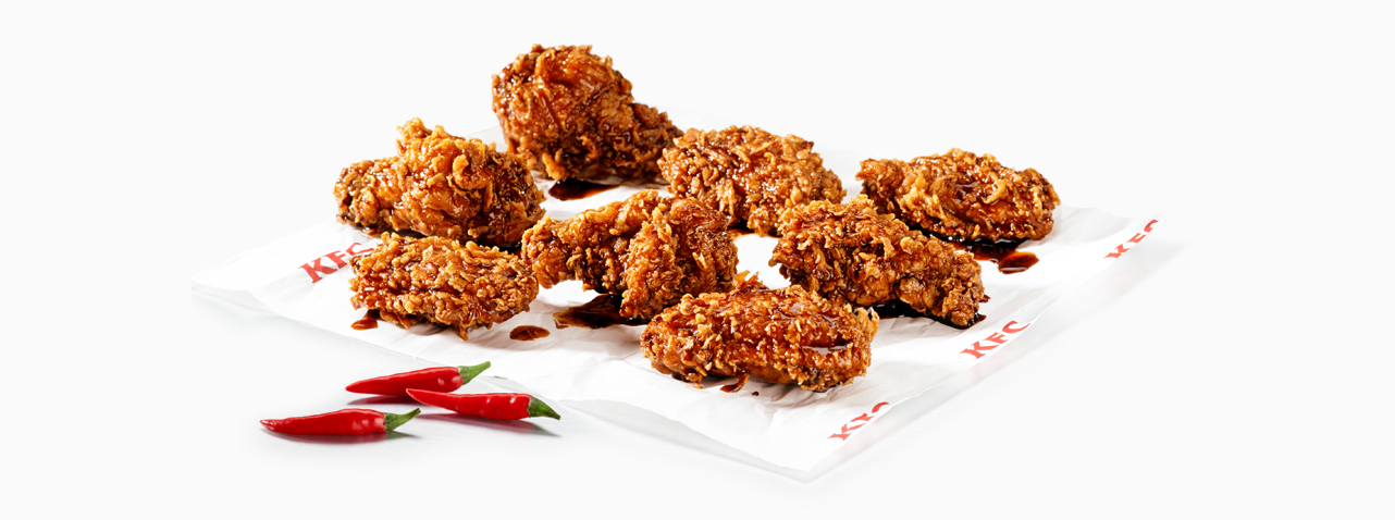 KFC Zimbabwe - Dunked Wings